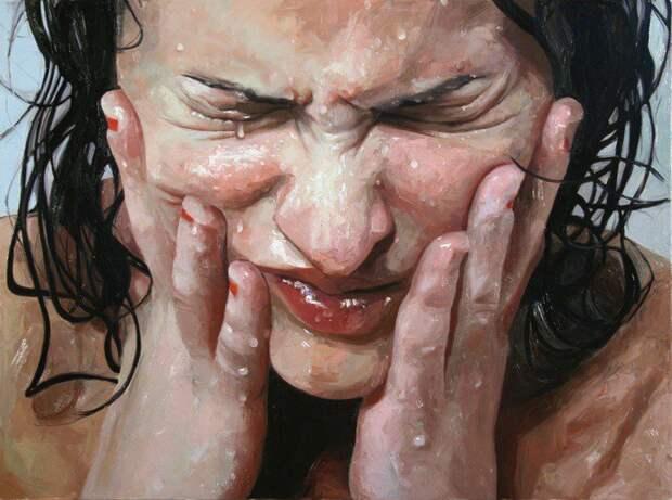 Масло + вода: портреты этой художницы легко спутать с фотографиями
