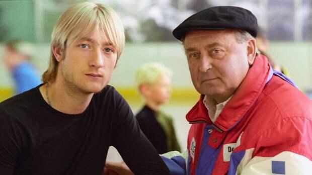 «Мой второй папа в гостях у Ангелов Плющенко». Олимпийский чемпион опубликовал фото с Мишиным