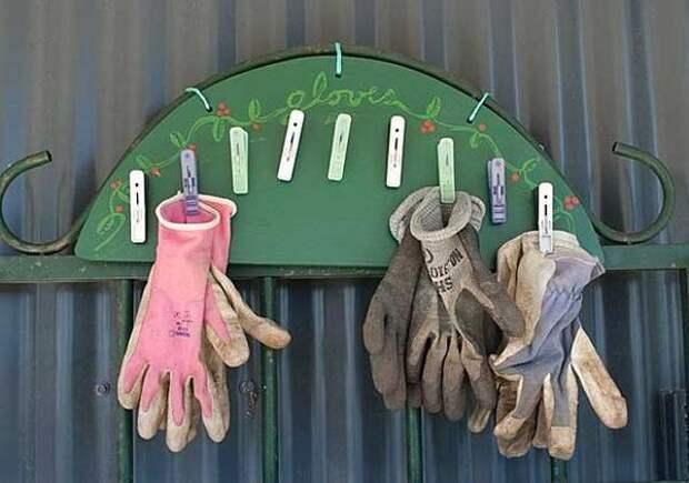 Вешалка для перчаток. Фото с сайта instructables.com
