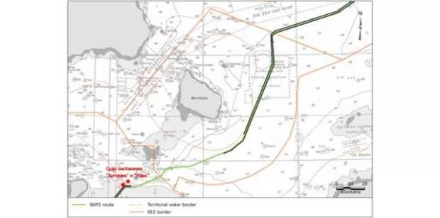Суда снабжения «Северного потока— 2» вышли натрассу газопровода