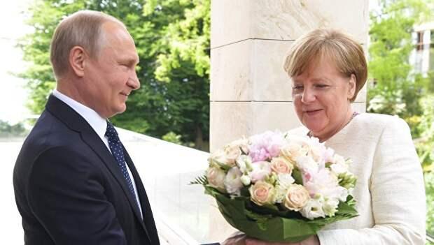 «Показал, кто в мире хозяин». СМИ о встрече Путина и Меркель
