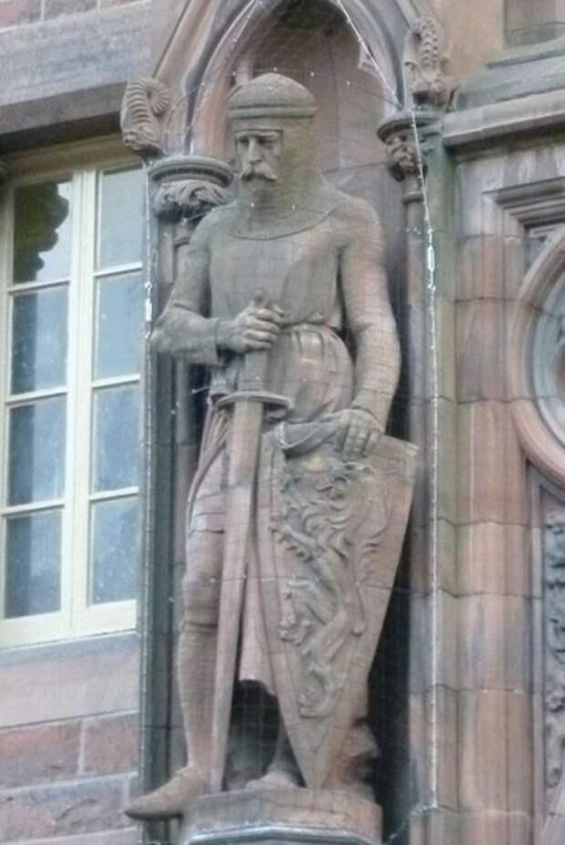 Статуя Уоллеса в Шотландской Национальной портретной галерее, Эдинбург.