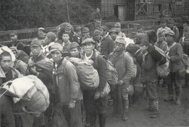 Депортация (репатриация) японцев с Курил.