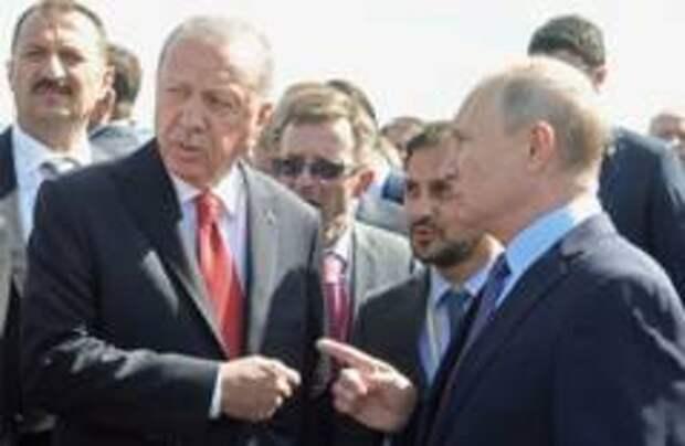Путин показал Эрдогану лимузин Aurus