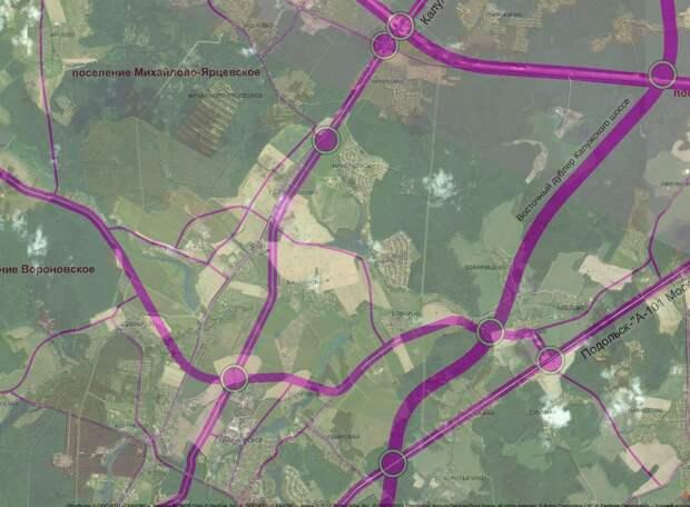 Жидкин прояснил маршрут Восточного дублера Калужского шоссе