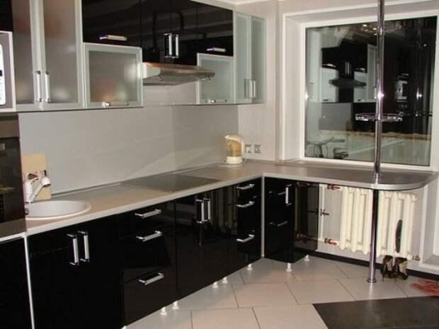 Барная мини-стойка для маленькой кухни