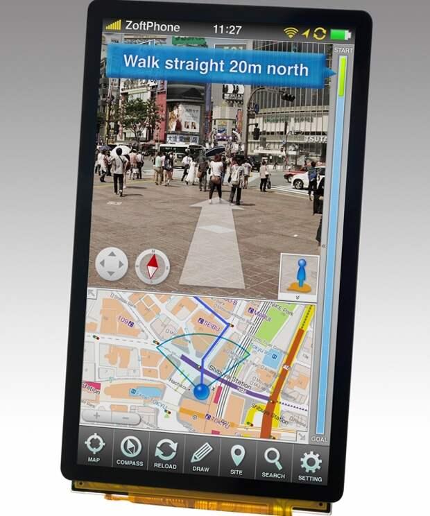 Japan Display начнёт выпуск сенсорных экранов Pixel Eyes высокого разрешения для планшетов