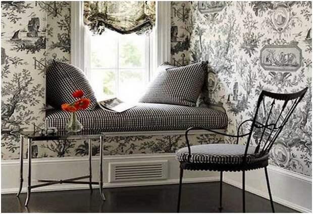 Оригинальный диван подоконник