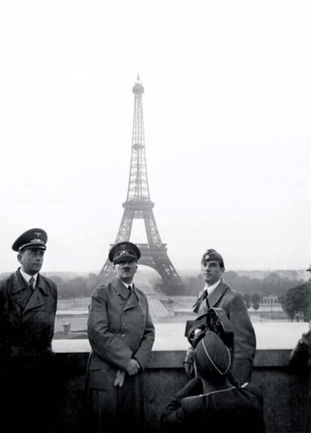 Париж 1940 г. Простой немецкий турист наконец-то в<br /> городе своей мечты!