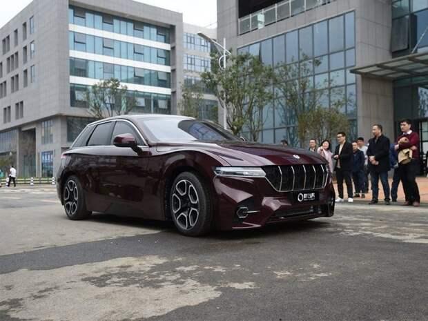 Китайцы разработали автомобиль на водородном топливе с запасом хода 1000 километров авто, автомобили, водород, водорожный автомобиль, гибрид, китайский автопром, концепт, прототип