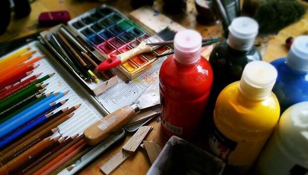 Юные подольчане поучаствуют в мастер‑классе по рисованию акварелью в четверг