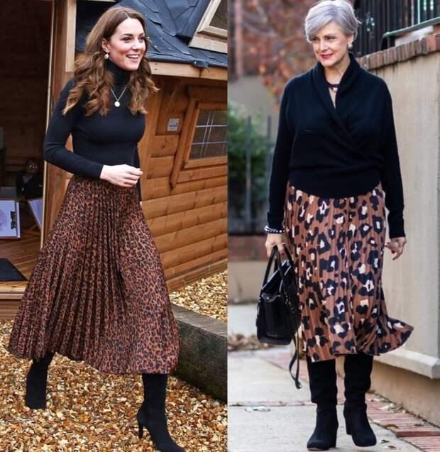 Фото  8 - герцогиня Кембриджская, фото 9 - модный блогер Бет Джалали.