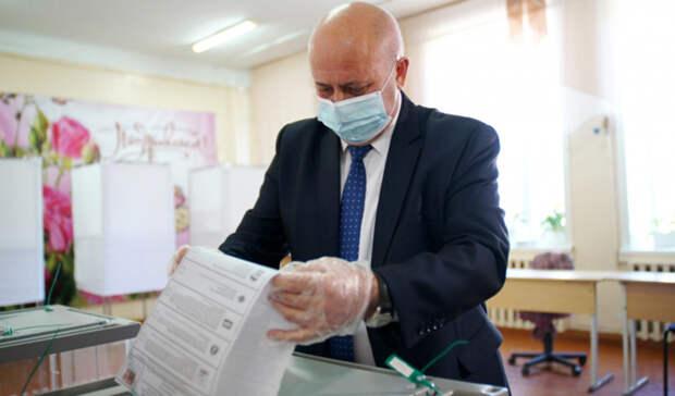 Мэр Хабаровска поздравил горожан спервым днем голосования