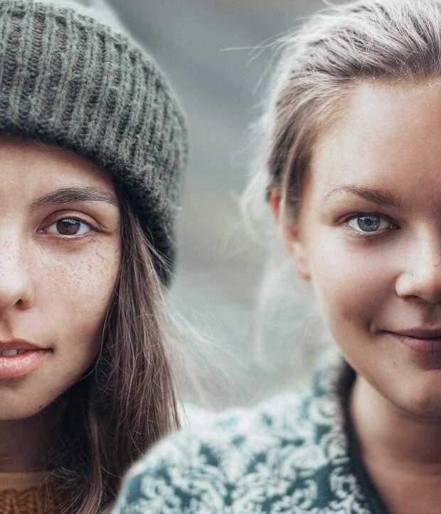 Россиянка демонстрирует красоту девушек совсего мира, делая сними совместные фото