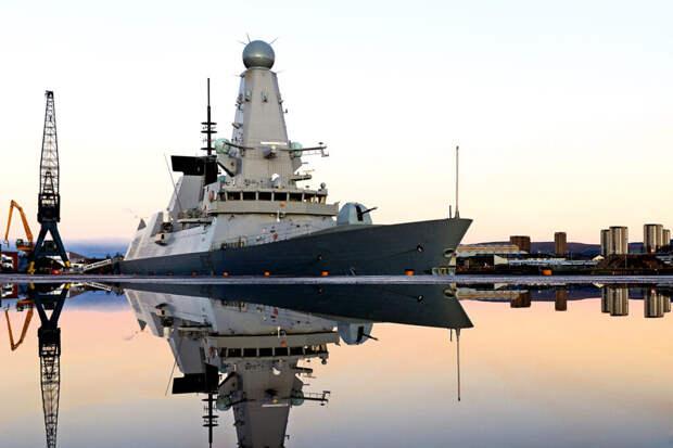 Путин не исключил, что Россия могла бы «потопить» британский эсминец