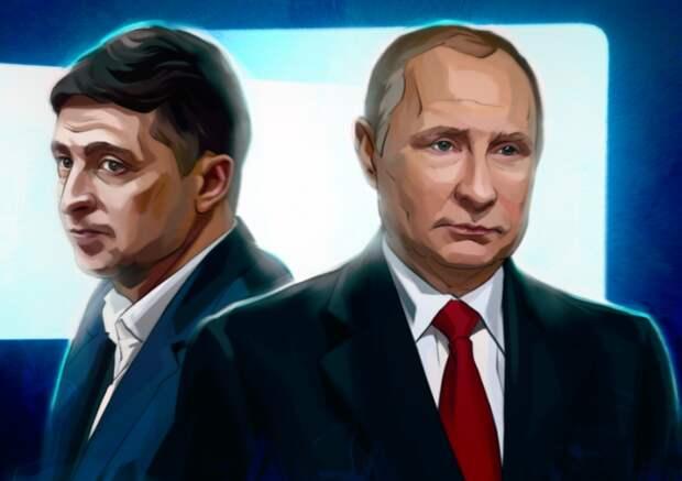 Пресс-конференция Путина заставила Зеленского изрядно нервничать