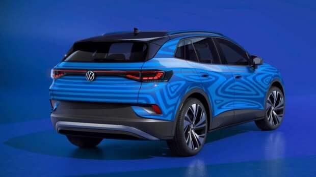 """Электромобиль Volkswagen ID.4 назван """"Всемирным автомобилем — 2021"""""""