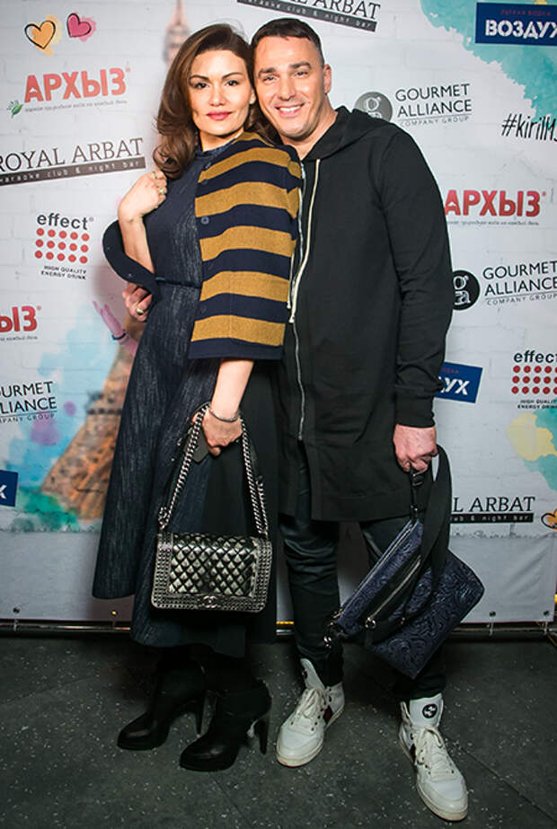 Кирилл Андреев с женой