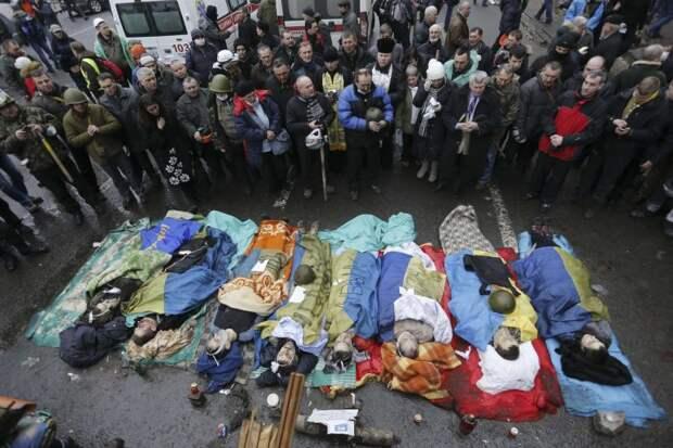 100 убитых было условием США для поддержки Западом майдана в 2014 году