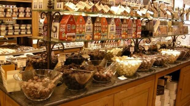 Музей шоколада - гордось бельгийского Брюгге