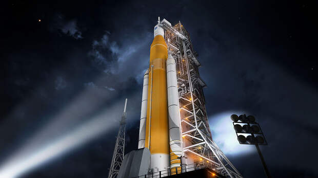 NASA показало ракету для отправки астронавтов на Луну