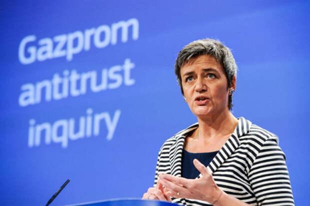 Еврокомиссия Вестагер Газпром