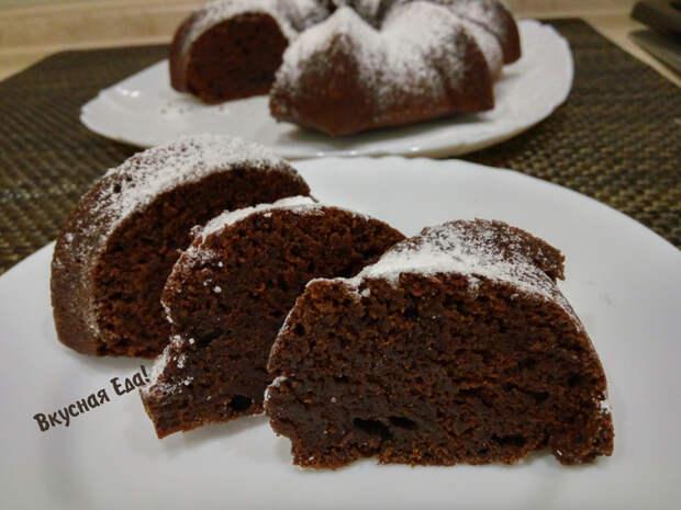 Постный шоколадный кекс на воде Шоколадный кекс, Видео рецепт, Видео, Кекс, Рецепт, Постные блюда