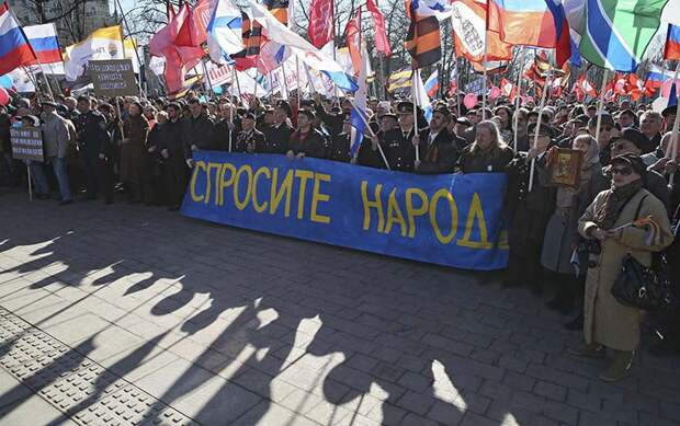Украина посыпалась: Киев повторяет «крымскую ошибку»