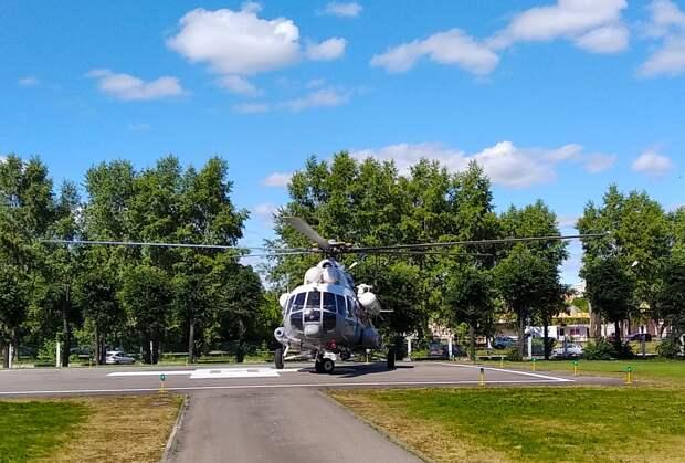 Мужчину и женщину с инфарктами по воздуху доставили в Тверь