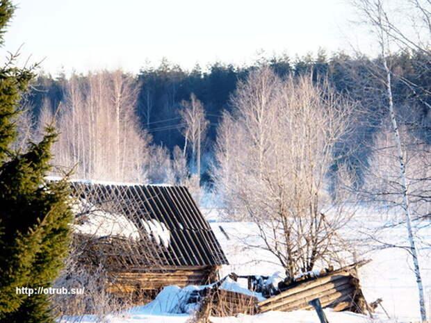 Зима прощается