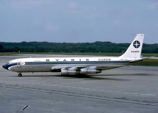 Boeing 707-320C авиакомпании VARIG, идентичный исчезнувшему. / Фото: www.wikipedia.org