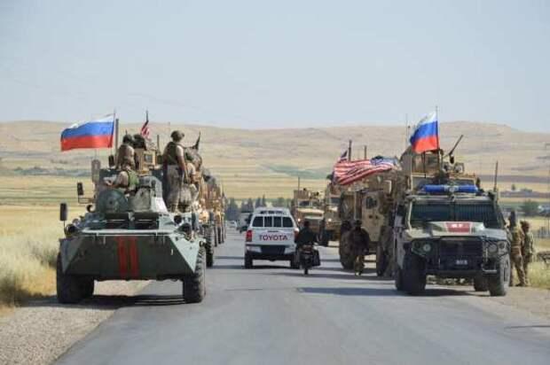 «Кто вас сюда звал?!» — Армия России заблокировала военных США в Сирии и поставила их на место