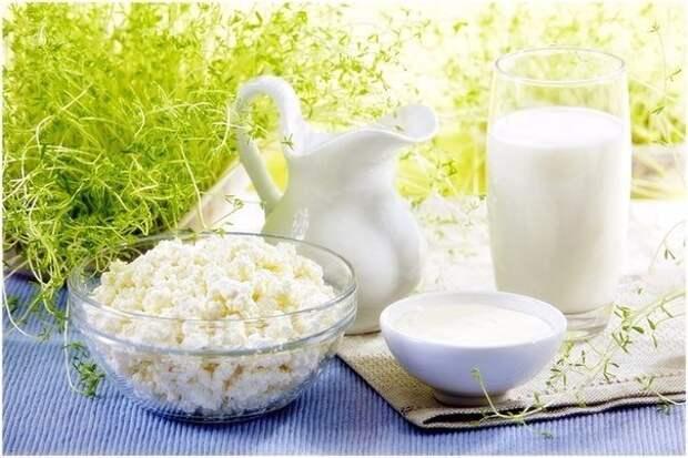 Кисломолочные продукты для лечебных целей