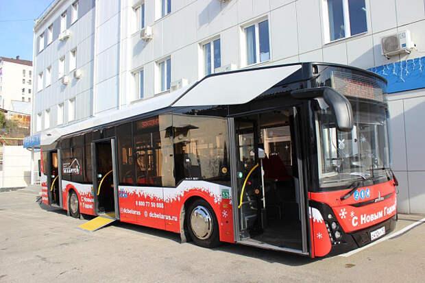 В Сочи впервые в России протестируют автобусы с обеззараживателями воздуха