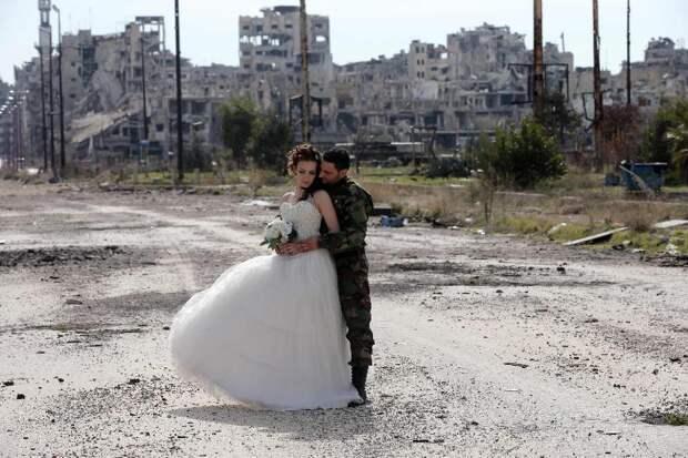 Свадьбы на войне