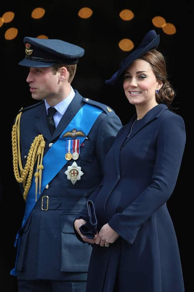 Принц Уильям и принцесса Кейт в 2015 году, незадолго до рождения Шарлотты