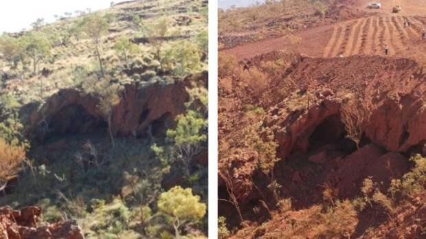 Законное уничтожение доисторических объектов