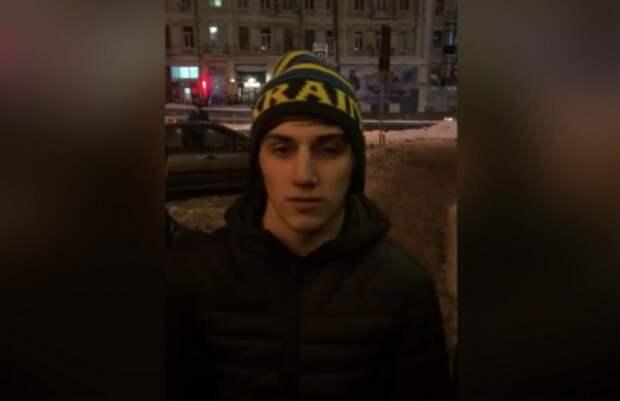 В Киеве радикалы С14 толпой напали на «кадыровца», заставив произнести «Слава Украине»