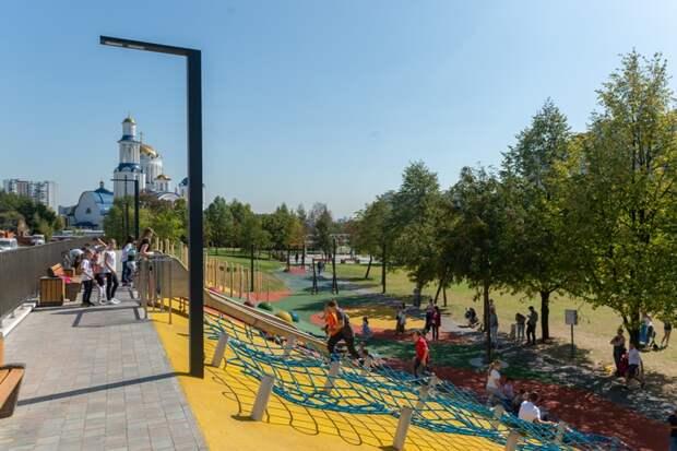Игровые площадки Москвы приспосабливают для взрослых