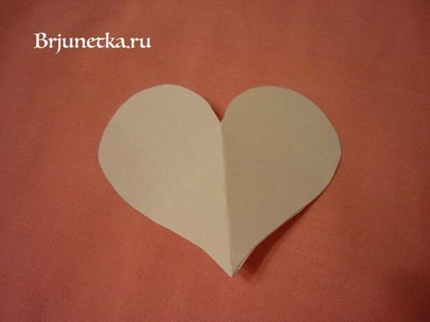 Как сделать сердце из ткани своими руками?