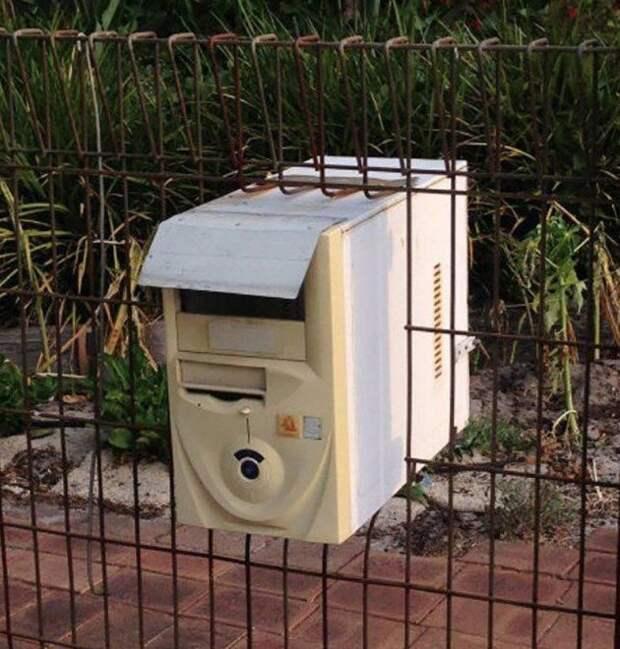 Настоящий электронный почтовый ящик postmail, красивые почтовые ящики, отличная идея, почта, почтовые ящики, почтовый ящик, ящики