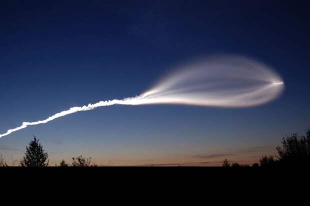 "Американцы перепутали баллистическую ракету с ""летающей тарелкой"""