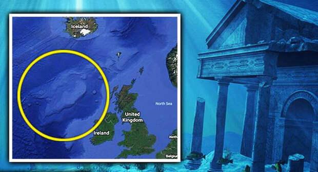 загадки истории, атлантида, ирландия