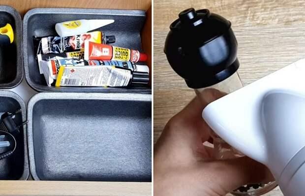 Органайзеры из мусора: как использовать коробочки, которые мы отправляем в ведро