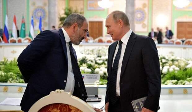 Эксперт: Пашинян в Карабахе расплачивается за оскорбление Путина