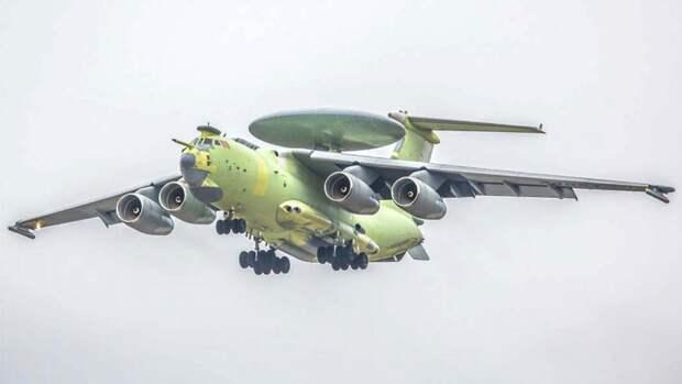 Самолет дальнего радиолокационного обнаружения нового поколения А-100