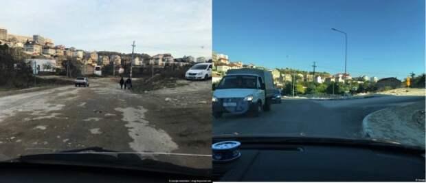 «Убитая» дорога Севастополя тогда и сейчас
