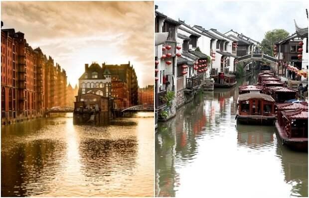 Не Венецией единой: 10 городов, которые знамениты своими каналами