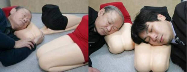 Подушка в виде женских ног умные