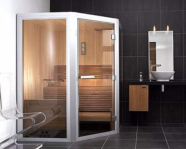 Сауна в ванной комнате вашего дома